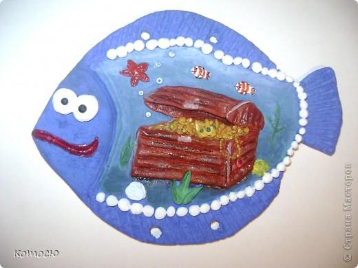 ну вот и готова моя рыбка - сокровища дна морского фото 1