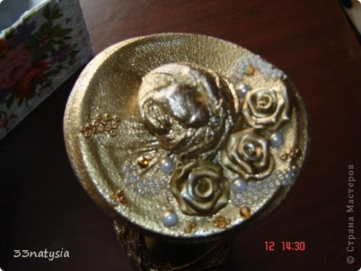 здраствуйте дорогие мастерицы!! у моей тети был юбилей 70 лет и я вот сделала ей такой подарочек ,это коробочка сделанная тоже мною фото 5