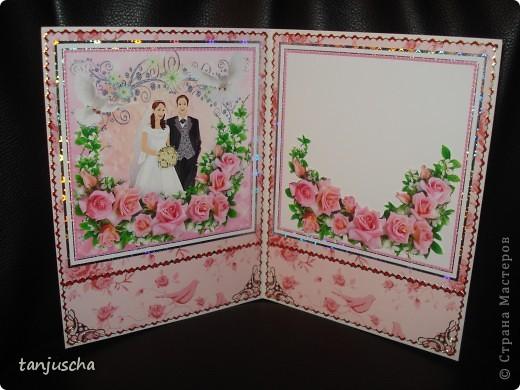 Всем здравствуйте. Сегодня хочу показать вам новые свадебные открытки которые делала на заказ.  Сразу хочу извениться перед всеми кому обещала сделать МК упаковочки. Обещаю МК будет но попозже . Сначала нужно разобраться с заказами фото 10