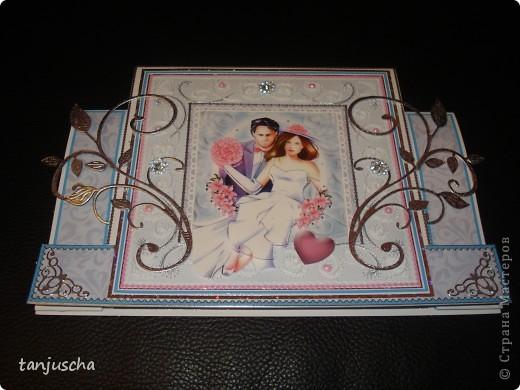 Всем здравствуйте. Сегодня хочу показать вам новые свадебные открытки которые делала на заказ.  Сразу хочу извениться перед всеми кому обещала сделать МК упаковочки. Обещаю МК будет но попозже . Сначала нужно разобраться с заказами фото 13