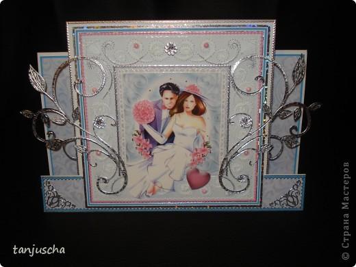 Всем здравствуйте. Сегодня хочу показать вам новые свадебные открытки которые делала на заказ.  Сразу хочу извениться перед всеми кому обещала сделать МК упаковочки. Обещаю МК будет но попозже . Сначала нужно разобраться с заказами фото 12