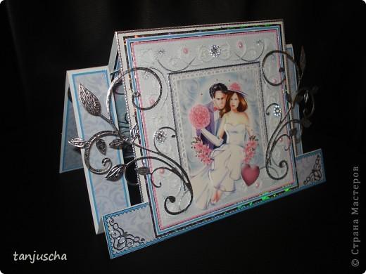 Всем здравствуйте. Сегодня хочу показать вам новые свадебные открытки которые делала на заказ.  Сразу хочу извениться перед всеми кому обещала сделать МК упаковочки. Обещаю МК будет но попозже . Сначала нужно разобраться с заказами фото 16