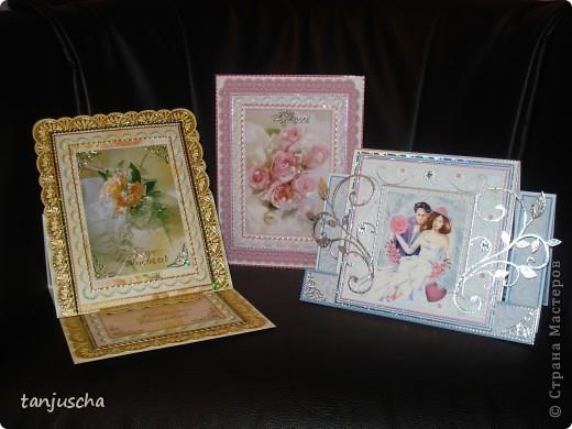 Всем здравствуйте. Сегодня хочу показать вам новые свадебные открытки которые делала на заказ.  Сразу хочу извениться перед всеми кому обещала сделать МК упаковочки. Обещаю МК будет но попозже . Сначала нужно разобраться с заказами фото 1