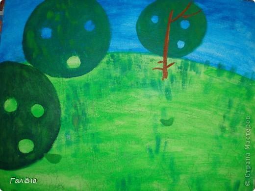 Эту веселую картинку рисовала на День Рождения племяшки.По мотивам иллюстраций Виктории Кирдий. Думаю,что кому-нибудь пригодятся мои этапы выполнения данной работы. фото 3