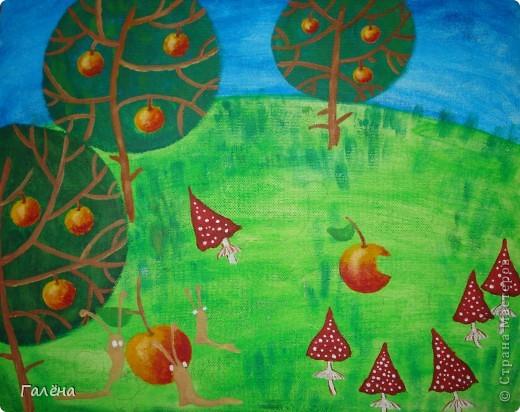 Эту веселую картинку рисовала на День Рождения племяшки.По мотивам иллюстраций Виктории Кирдий. Думаю,что кому-нибудь пригодятся мои этапы выполнения данной работы. фото 6