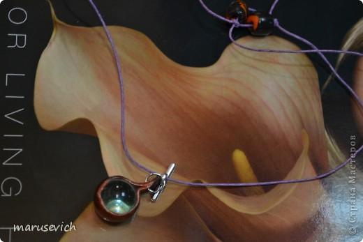 кулон с розами, тонирован золотисто-черным, есть металлический перелив фото 6