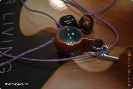 кулон с розами, тонирован золотисто-черным, есть металлический перелив фото 7