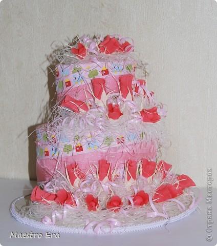 Вот такие тортики. Попробовала применить здесь свит-дизайн в украшении. фото 3