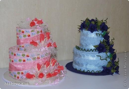 Вот такие тортики. Попробовала применить здесь свит-дизайн в украшении. фото 1