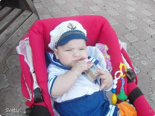 Капитанская кепочка для сыночка