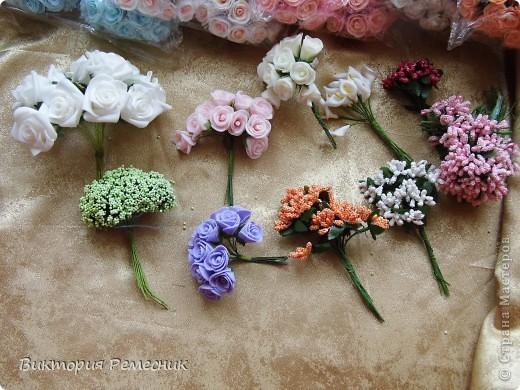 вот цветочки с которыми я в основном работаю фото 1