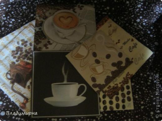 Мне очень повезло: посылка мне пришла из Усть-Цильмы, от Танечки-2002 и её мамы Мартинки. Посылка шла с небольшими приключениями. Почему-то её захотелось затеряться в Перми. Но всё-таки я её получила. И теперь хвастаюсь!!! Кофе- источник вдохновения, об этом гласила открытка, присланная девочками. Кофе вдохновил их на множество подарков. Смотрите и любуйтесь.  фото 5