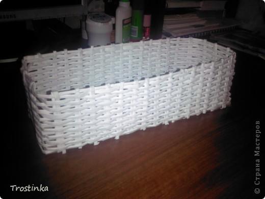 Ну вот она моя плетеночка - моя коробочка для специй!