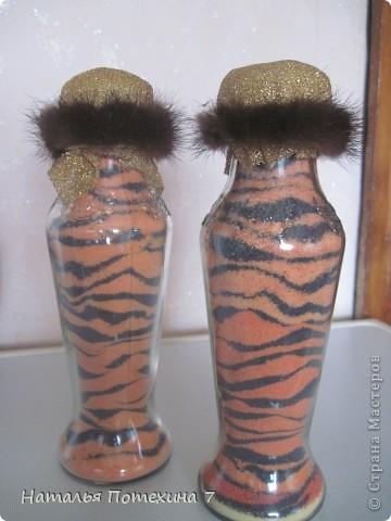 Это мой вариант декоротивных бутылочек! фото 4
