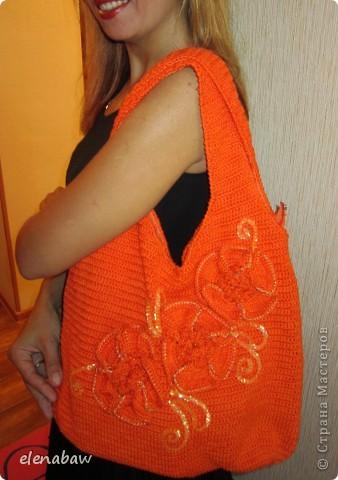 Вот такая сумочка связалась для сестры в комплект к юбке! МК сумки http://stranamasterov.ru/node/78633?c=favorite, спасибо Ирине-Голубке! фото 3