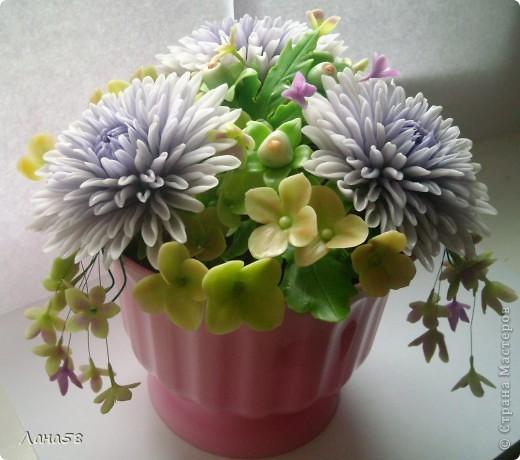 букет из хризантем фото 1