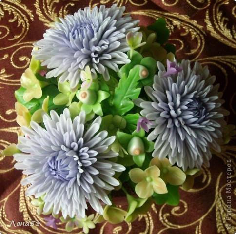 букет из хризантем фото 3