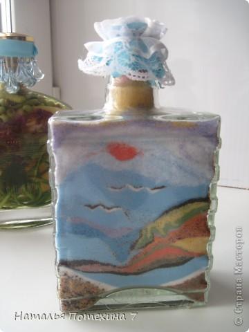 Это мой вариант декоротивных бутылочек! фото 2