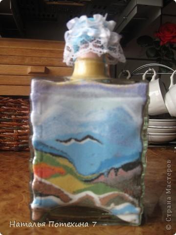 Это мой вариант декоротивных бутылочек! фото 3