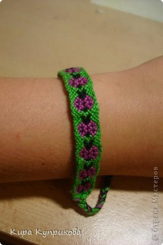 Это моя первая работа по схеме косого плетения фото 1