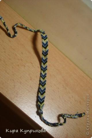 Это моя первая работа по схеме косого плетения фото 2