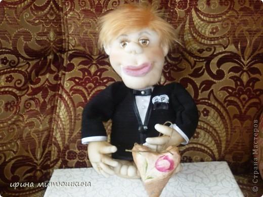 Попросили сделать кукол на подарок на свадьбу. фото 2