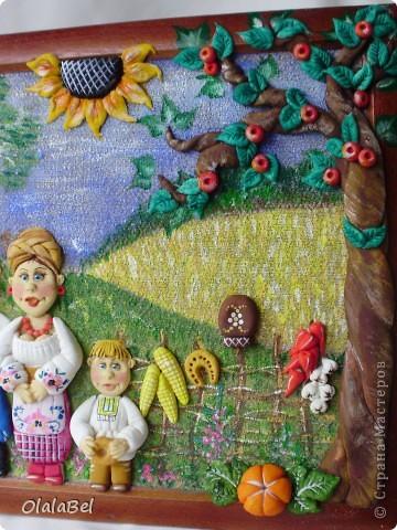 Украинский оберег. Соленое тесто. «Родинне щастя»  фото 5