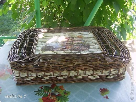 Вот так выглядит мой подарочный набор : комплект постельного белья (самошитые : 3 наволочки, большая простынь и стандартный пододеяльник),коробочку плела здесь http://stranamasterov.ru/node/404417 фото 3