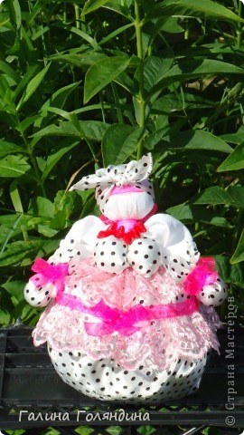 кукла кубышка - травница с мятой фото 1