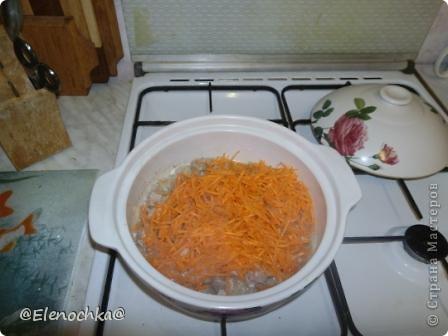 Для приготовления  понадобится:  мясо - 500 гр рис - 300 гр морковь лук  чеснок растительное масло соль, черный молотый перец  фото 5