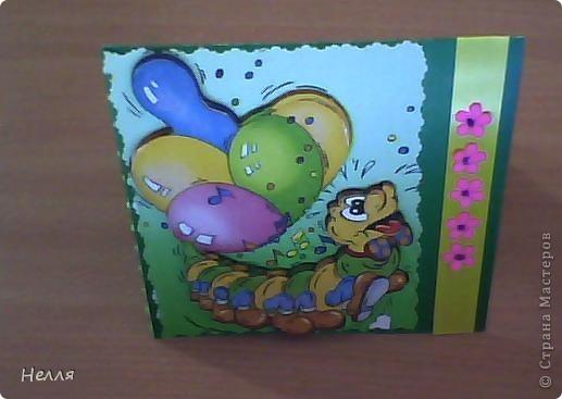 Вот такие открытки сделала на день рождения. фото 3
