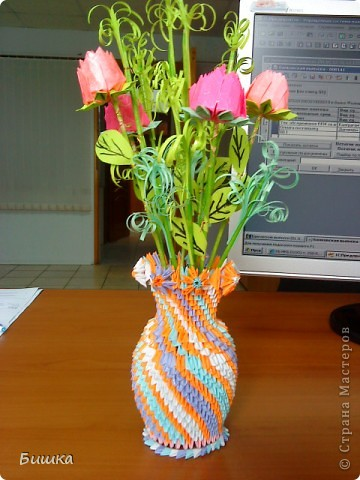 розы в вазе фото 3
