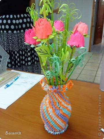 розы в вазе фото 2