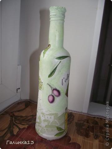 Вот наваяла бутылочек под винный напиток и под масло. давно хотела сделать африканскую и с оливками. УРА! я их сделала! фото 16