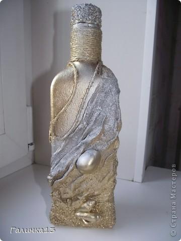 Вот наваяла бутылочек под винный напиток и под масло. давно хотела сделать африканскую и с оливками. УРА! я их сделала! фото 19
