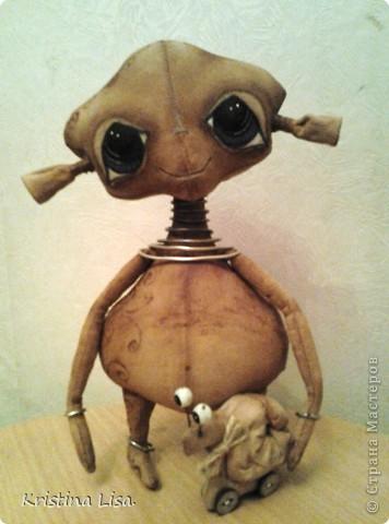 Пришла мне в голову идея, сшить инопланетного малыша.......Какой он должен быть?  фото 9