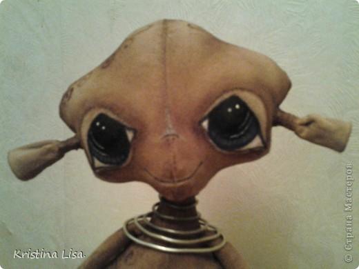 Пришла мне в голову идея, сшить инопланетного малыша.......Какой он должен быть?  фото 1