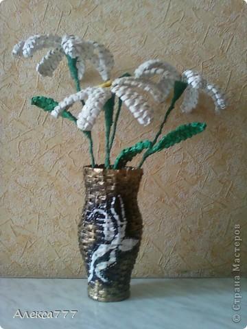 Вот и вазочка готова)) фото 2