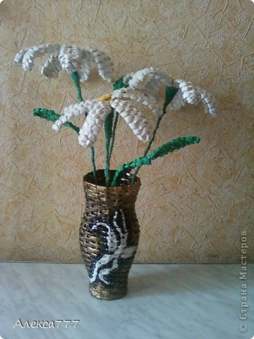 Вот и вазочка готова)) фото 3
