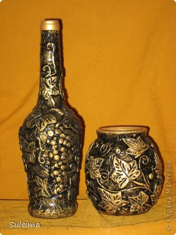 """Бутылка """"Виноград"""" фото 1"""