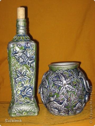 """Бутылка """"Виноград"""" фото 2"""