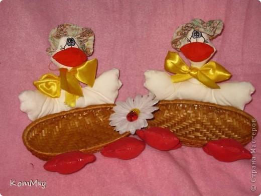 Жили у бабуси два весёлых гуся...  фото 1
