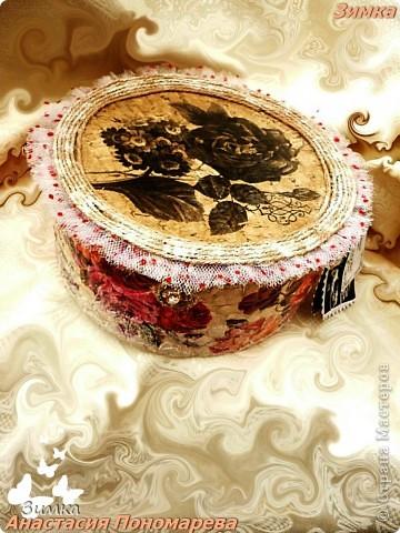 Коробка для свадебного канзаши комплекта фото 2