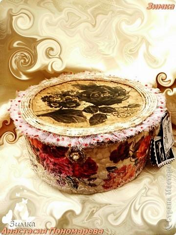 Коробка для свадебного канзаши комплекта фото 3