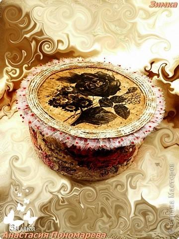 Коробка для свадебного канзаши комплекта фото 1