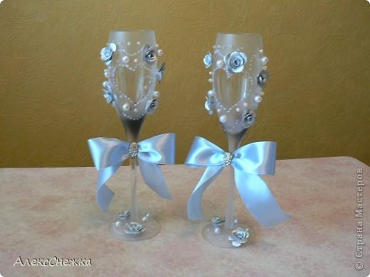 мои первые свадебные бокалы фото 2