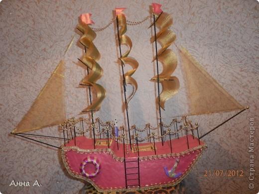 Корабль в подарок. фото 1