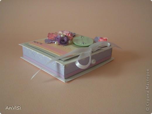 Всем здравствуйте! Вот ещё мои работы. Это первый опыт создания такой коробочки. МК тут: http://mu-ha.blogspot.com/2009/09/blog-post_11.html фото 2