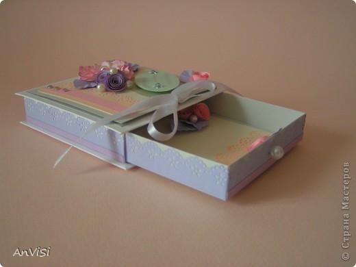 Всем здравствуйте! Вот ещё мои работы. Это первый опыт создания такой коробочки. МК тут: http://mu-ha.blogspot.com/2009/09/blog-post_11.html фото 3