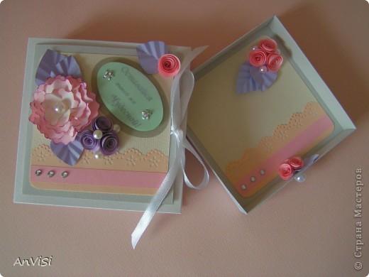 Всем здравствуйте! Вот ещё мои работы. Это первый опыт создания такой коробочки. МК тут: http://mu-ha.blogspot.com/2009/09/blog-post_11.html фото 4